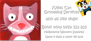 Kylies Cat Grooming Services | Kylies Dog Grooming Services